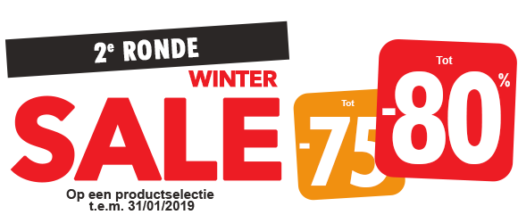 Winter Sales tot -80%!
